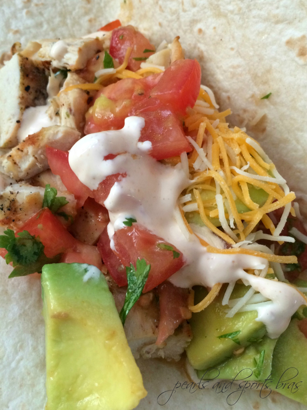 Grilled Chicken Tacos with Avocado Salsa and Spicy Mayo