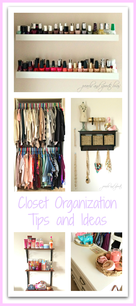 Diy closet organization ideas life in pearls and sports bras - Diy closet ideas organization ...