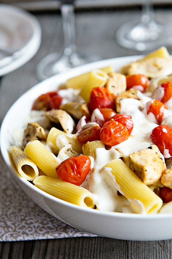 Chicken-Pasta-Caprese-dineanddish-2
