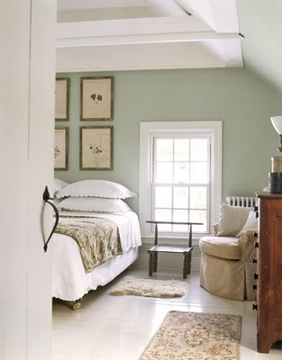painted floor country living