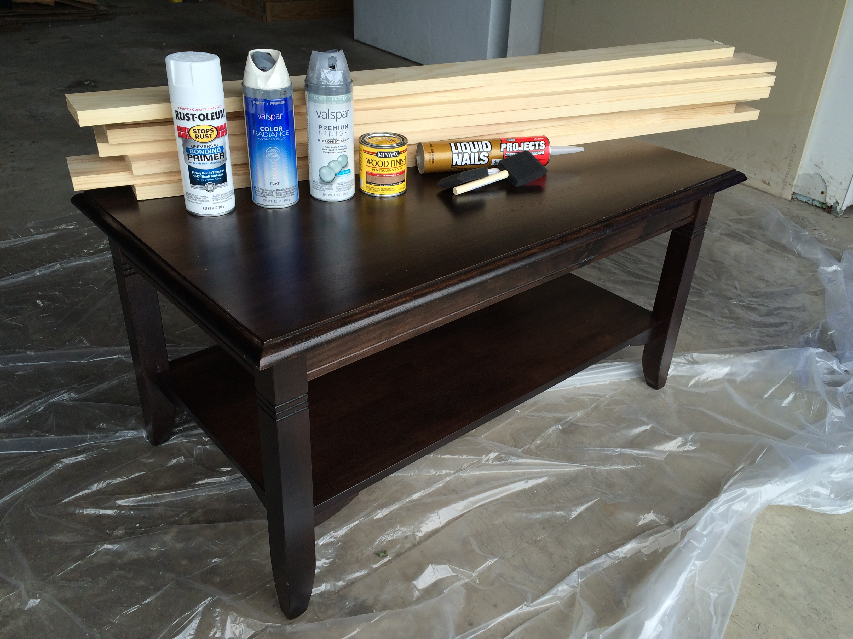 diy coffee table makeover u2013 life in pearls and sports bras