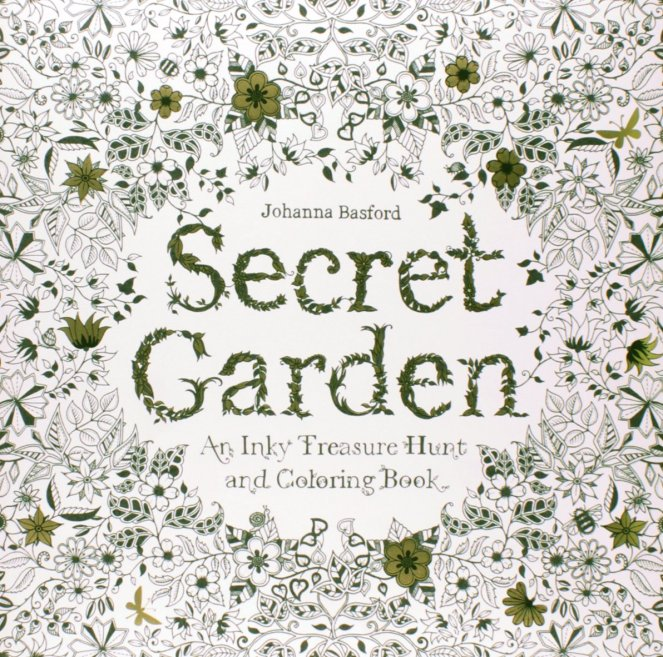 Secret Garden | The perfect adult coloring book |
