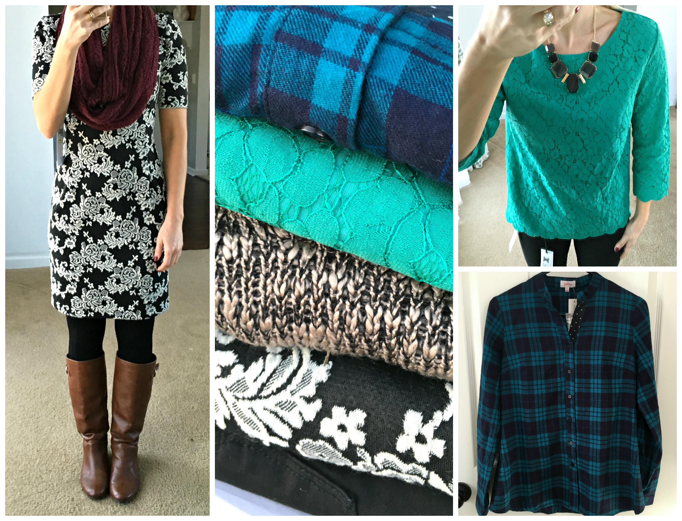Stitch Fix Review #4: October 2015 - Pearls and Sports Bras