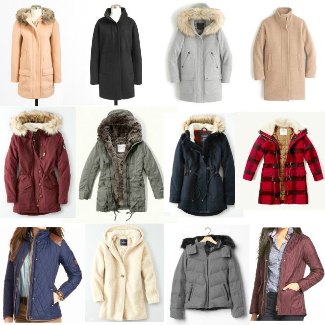 Outerwear and Coats for Winter 2015 |www.pearlsandsportsbras.com|