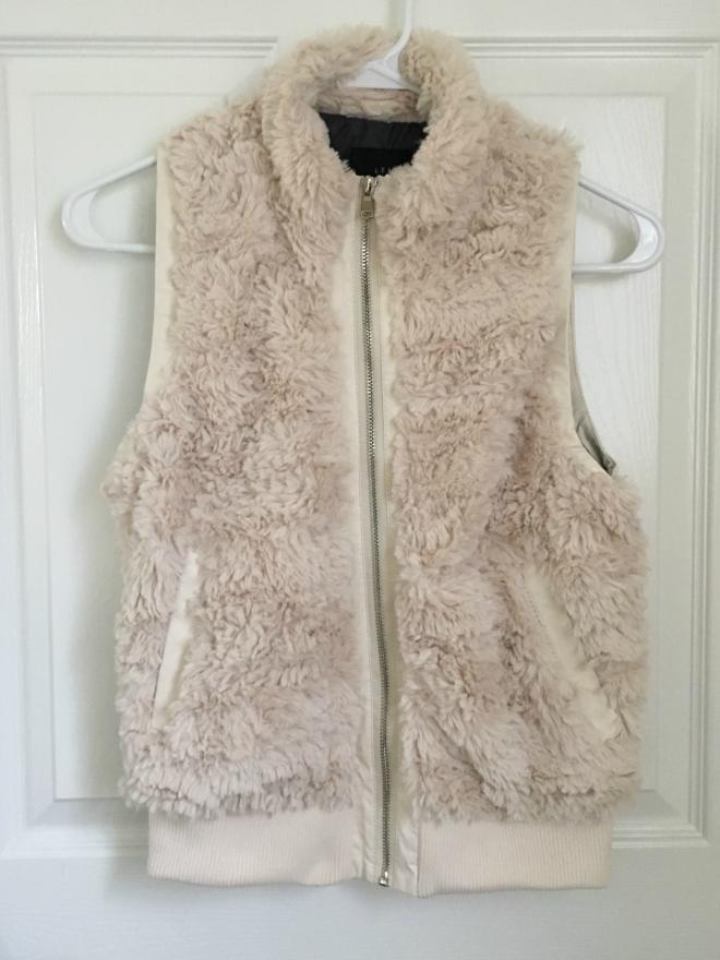 Stitch Fix: Tart Tarlee Faux Fur Vest  www.pearlsandsportsbras.com 