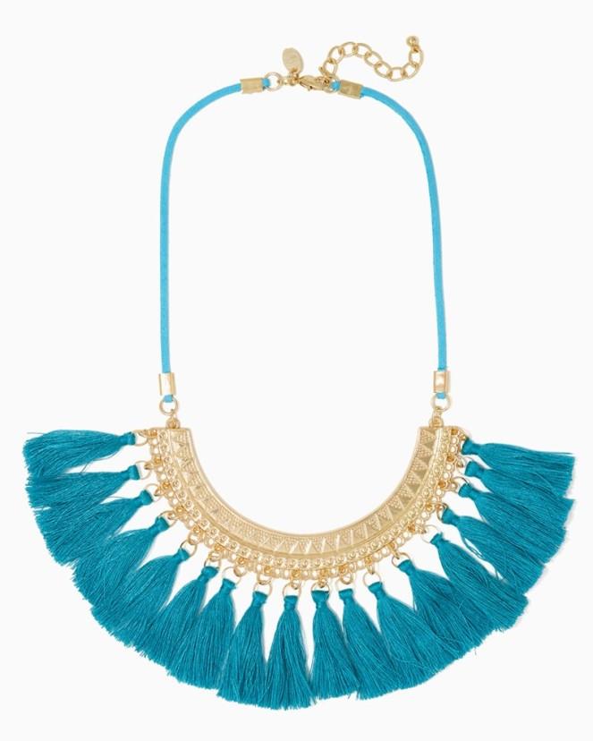 Charming Charlie Amara Tassel Necklace