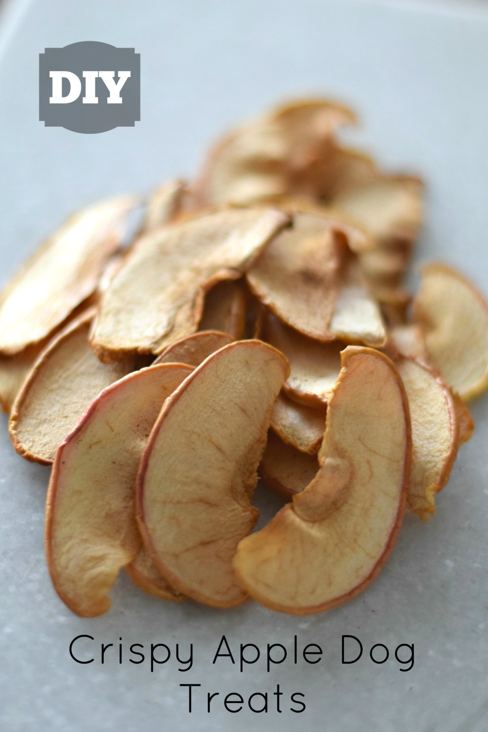 DIY Crispy Apple Dog Treats |www.pearlsandsportsbras.com|