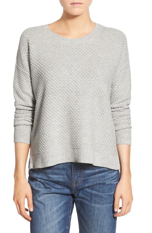 Madewell Landmark Texture Sweater |www.pearlsandsportsbras.com|