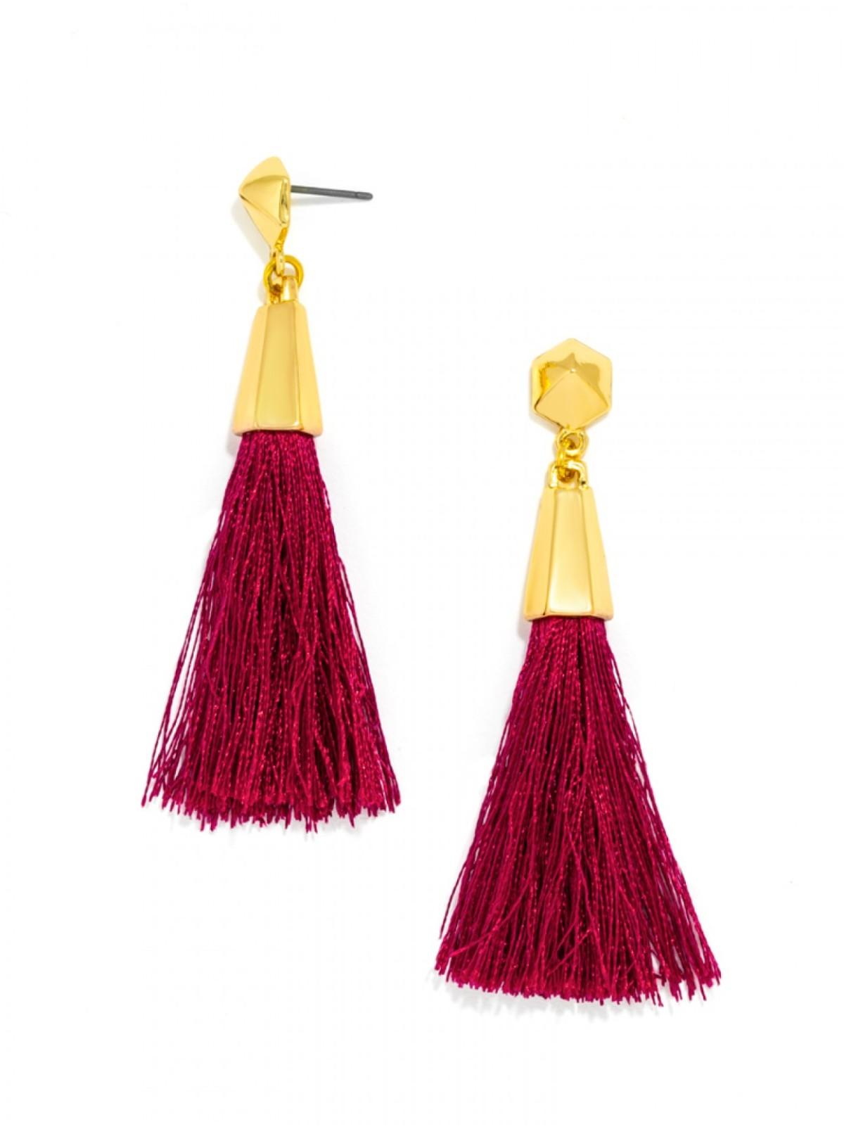 Baublebar Tassel earrings |www.pearlsandsportsbras.com|