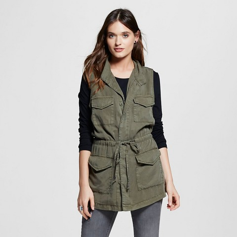 Green Cargo Vest from Target