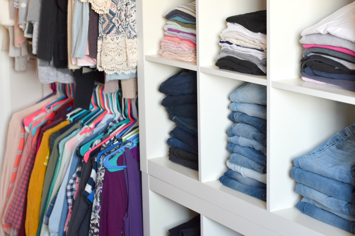 Spring Closet Cleanout and Organization