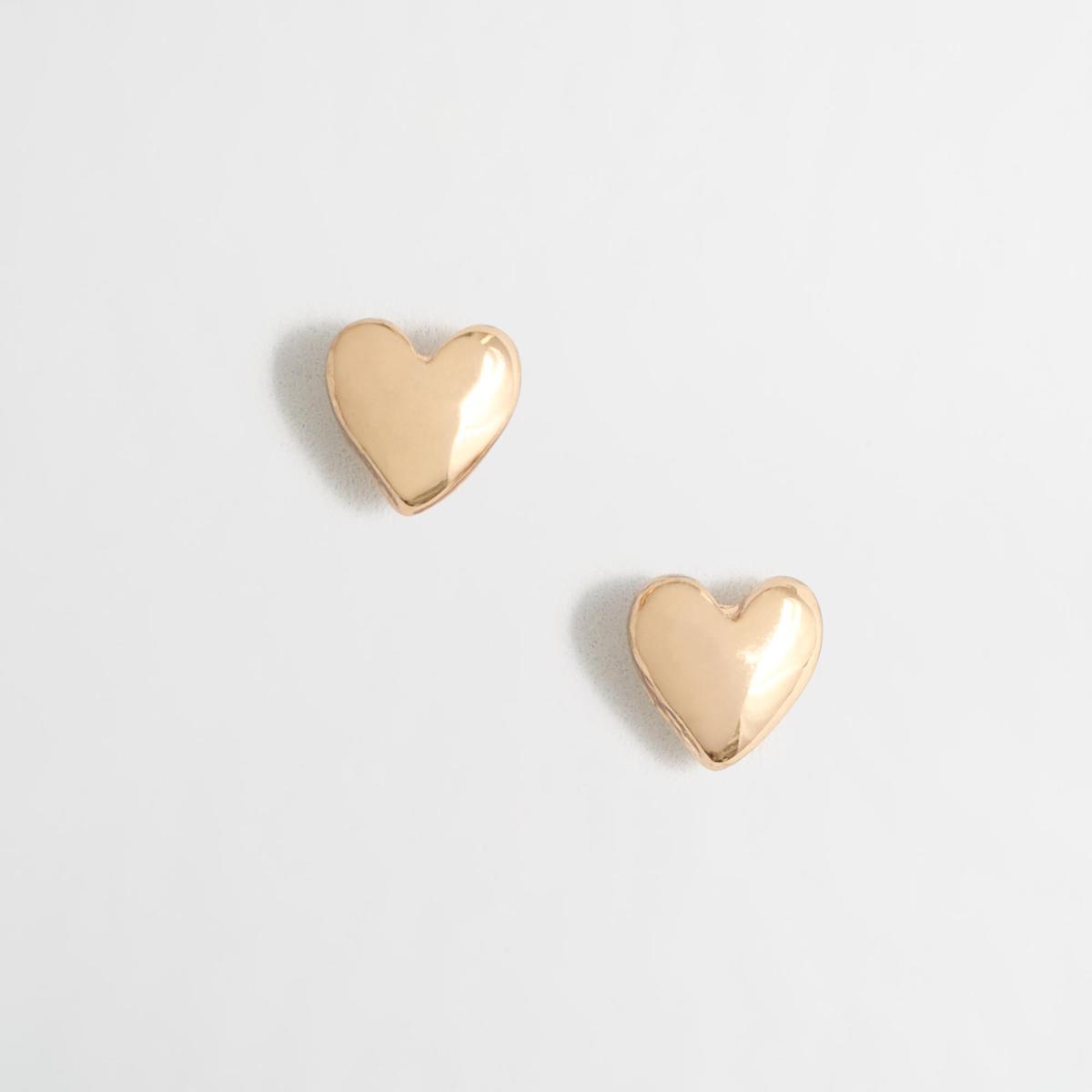 Factory Golden Heart Earrings