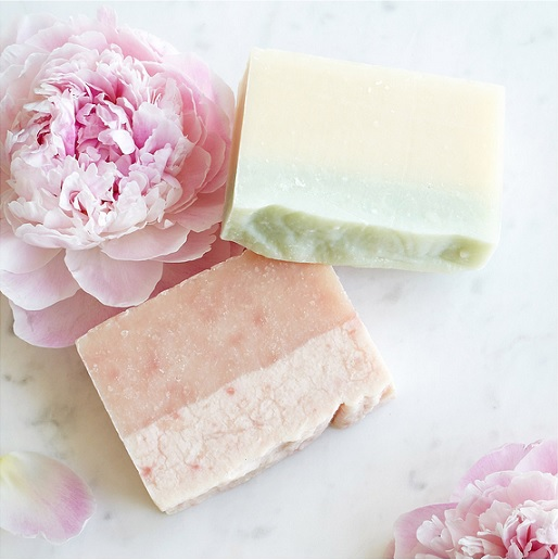 Natural Flower Soaps From Uncommon Goods