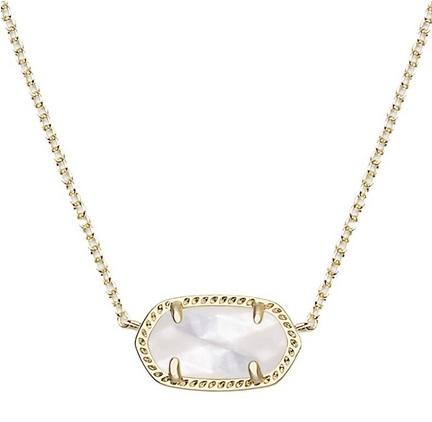 Kendra Scott Elisa Pendant Necklace |www.pearlsandsportsbras.com|