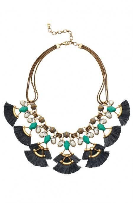 Lotus Tassel Necklace from Stella & Dot |www.pearlsandsportsbras.com|