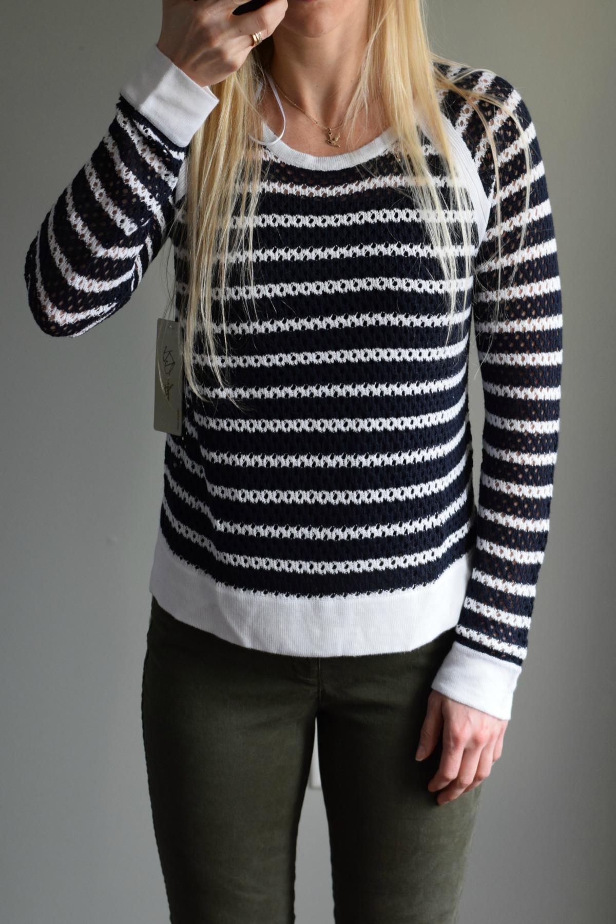 February 2016 Stitch Fix Review: RD Style Hollen Raglan Pullover Sweater |www.pearlsandsportsbras.com|