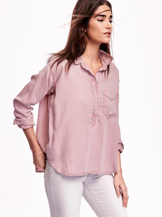 pink-chambray