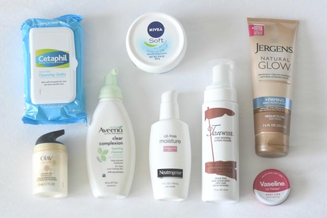 Spring Skin Scare Essentials  www.pearlsandsportsbras.com 