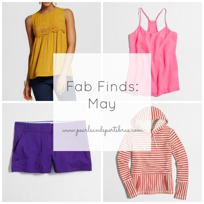 Fab Finds: May |www.pearlsandsportsbras.com|