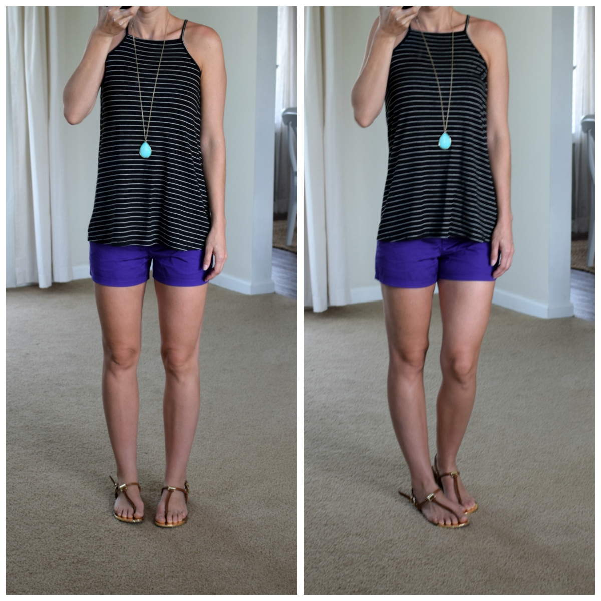Bold color mixing for summer  www.pearlsandsportsbras.com 