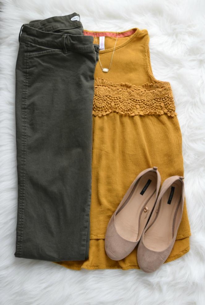 mustard and green |www.pearlsandsportsbras.com|
