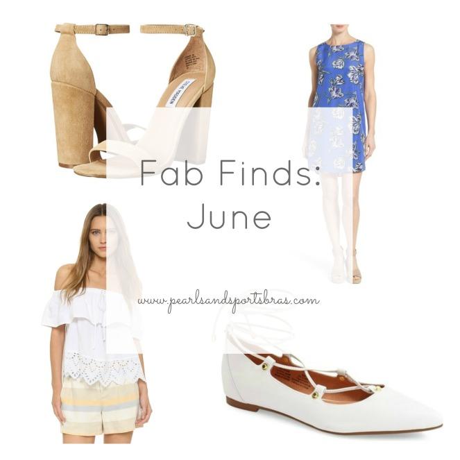Fab Finds: June 2016 |www.pearlsandsportsbras.com|