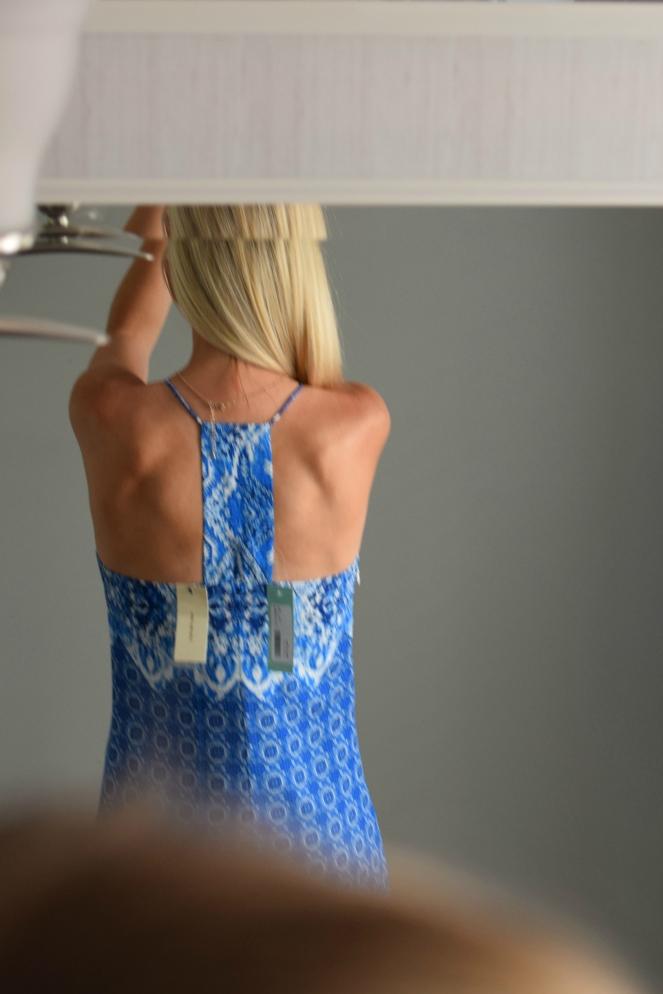 June 2016 Stitch Fix Review: Skies are Blue Lucielle Dress  www.pearlsandsportsbras.com 