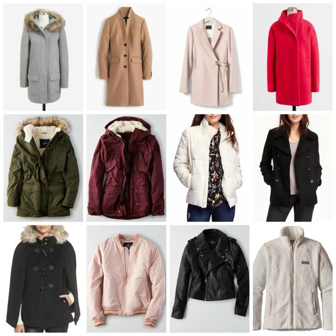 Winter Coats and Outerwear 2016  www.pearlsandsportsbras.com 