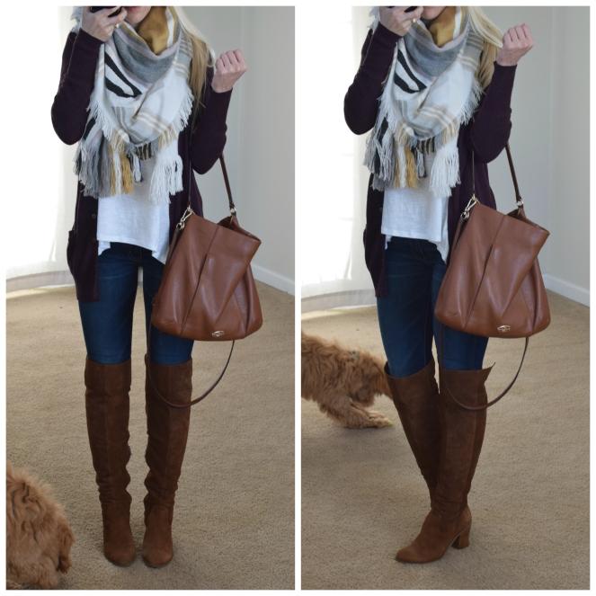 cozy and stylish for winter |www.pearlsandsportsbras.com|
