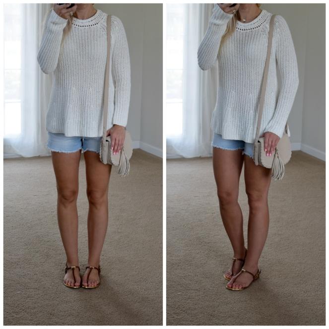 summer sweater |www.pearlsandsportsbras.com|