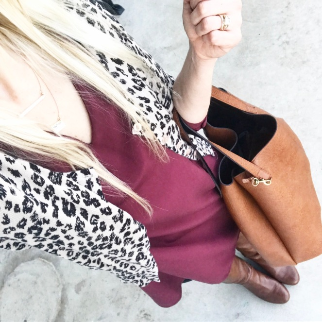 Wine and leopard |www.pearlsandsportsbras.com|