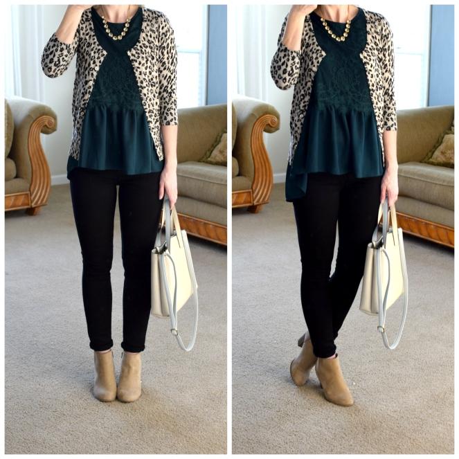 Green lace and leopard |www.pearlsandsportsbras.com|
