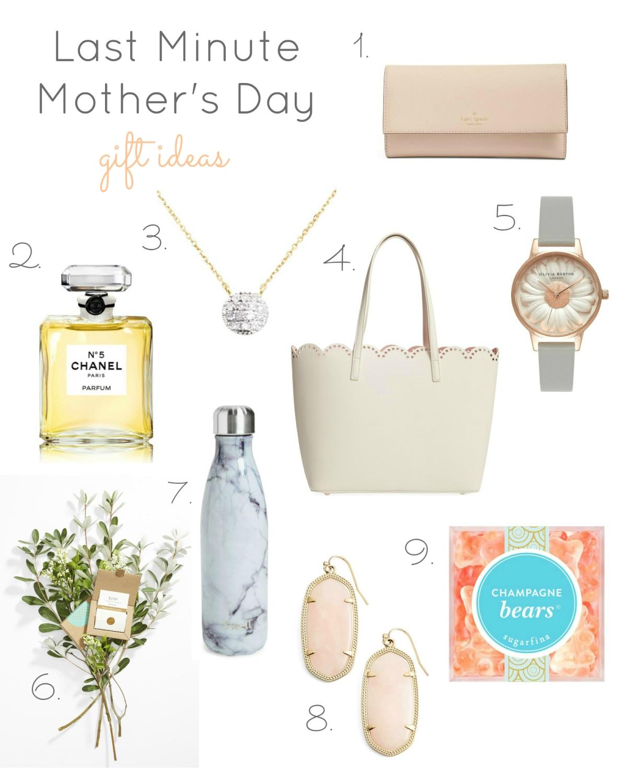 Last Minute Mothers Day Gift Ideas |www.pearlsandsportsbras.com|