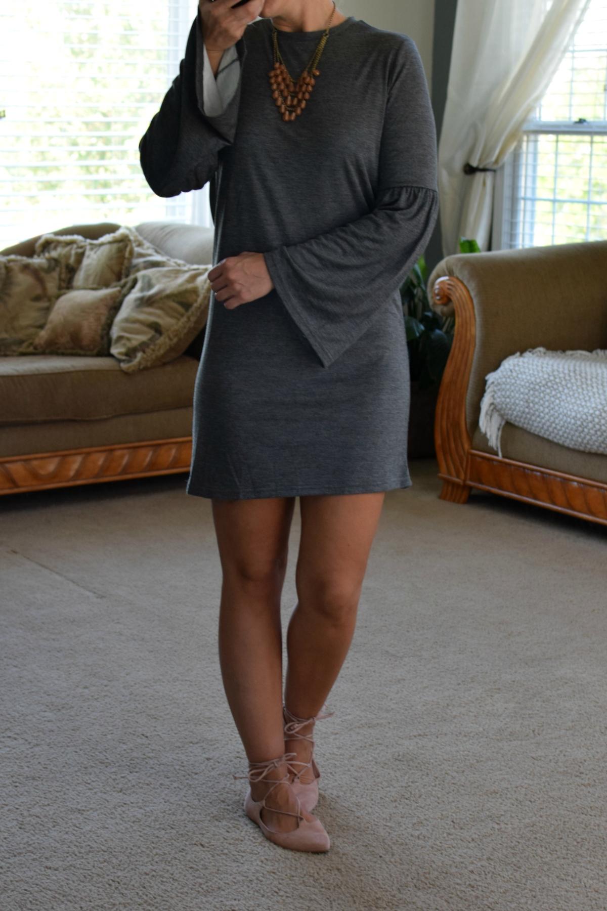 Stitch Fix Review October 2017: RD Style Lori Knit Dress |www.pearlsandsportsbras.com|